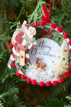 how to make a beautiful vintage style christmas ornament - Beautiful Christmas Ornaments