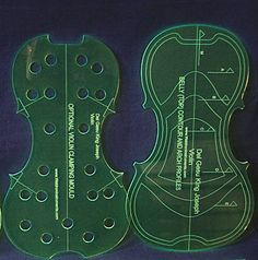 Del Gesu King Joseph Violin Template Set