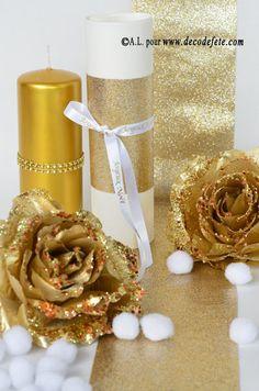 Aussi en Or paillette!!! découvrez la brillance, et le GLAM de la paillette de ce ruban #noel #fetes #decoration #table http://www.decodefete.com/ruban-paillette-p-3816.html