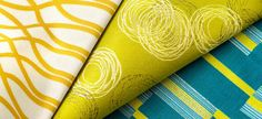 Inspired by Contemporary Dance: In Motion Collection by Momentum Textiles - Baby Mine, Contemporary Dance, Textile Fabrics, Commercial Design, Office Interiors, Fabric Design, Knit Crochet, Pillow Covers, Teal