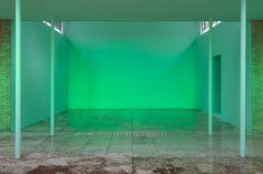 pamela rosenkranz fills swiss pavilion with immaterial elements at venice biennale 2015