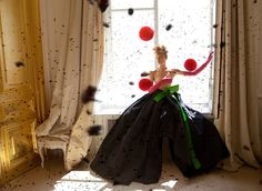 Odda Magazine November 2013 , Schiaparelli Couture Farah Holt by Baldovino Barani