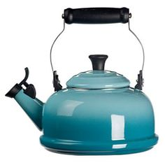 Whistling Tea Kettle in Caribbean