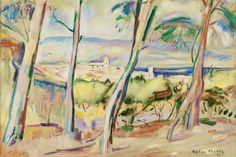 Othon Friesz, 1907, Paysage à La Ciotat, oil on canvas, 59.9 x 72.9 cm - Fauvism - Wikipedia, the free encyclopedia