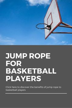 Do you know the benefits of jump ropes to basketball players? The jump rope is an essential tool for basketball players' workouts. Click here to find out http://terrifit.com/jump-rope-for-basketball-players/