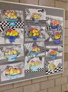 Art at Becker Middle School: Project updates- Zentangle Still Life by carey