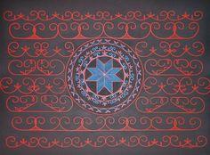 "Title: ""The Spirit of the Mi'kmaq"" Native American Crafts, Native American Design, American Indian Art, Crochet Baby Mittens, Woodland Indians, Scroll Design, Aboriginal Art, My Heritage, Native Art"