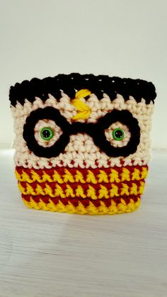 Free Crochet Pattern: Harry Potter Coffee Cozy