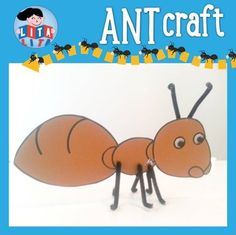 All about ANTS mini-book - Hayvanlar - - Cartoon Network - Cartoon Types Of Ants, Ant Crafts, Picnic Theme, Mini Books, Cartoon Network, Teacher, Learning, Professor, Ant Types