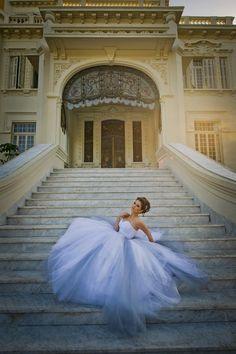 Solaine Piccoli  Vestido de Noiva, Noiva, Escadaria, Stairway, Bride, Dress,