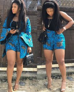 13 Gorgeous African Prints Shorts For Sweet-Sixteens Short African Dresses, Ankara Short Gown Styles, Trendy Ankara Styles, Kente Styles, African Print Dresses, African Fashion Dresses, Ankara Fashion, Ethnic Fashion, Woman Fashion