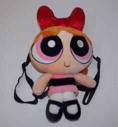 "Powerpuff Girls Plush Backpack Blossom 12"" #unknown"