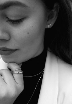 Black And White II  #Hvisk #Hviskstylist #Jewelry #Jewellery #Style #Stylist #Inspiration #Inspo #Art #Collage #Fashion ##OOTD #Outfit #Gold #silver #Rhodium #Diamonds #Diamond #Necklace #Ring #Bracelet #Retro #Autumn #Winter