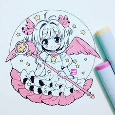 "33.9 mil curtidas, 224 comentários - Ibu  (@ibu_chuan) no Instagram: ""Sakura chan  #sakuracardcaptor #cardcaptorsakura #sakurachan #sakurakinomoto"""