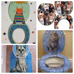 Out of gift ideas for the crazy cat lady in your life? Crazy Cat Lady, Crazy Cats, Cat Gifts, Decorative Plates, Gift Ideas, Tableware, Life, Home Decor, Dinnerware