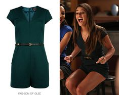 Fashion of Glee - Glee Fashion & Style, Ted Baker Romper... In my dreams of looking like that.