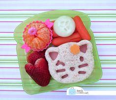 Bento School Lunch - Cute Little Kitty Bento - soft kitty - Big Bang Theory