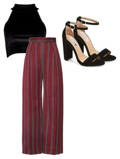 """""""Untitled #128"""" by katerinavra on Polyvore featuring Boohoo and Steve Madden"""