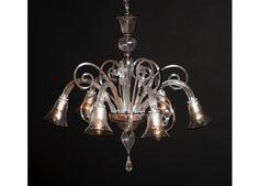 Handicraft Venetian chandelier Murano glass artistic works CALLA
