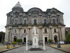 Basilica de San Martin de Tours- this is the iconic building by their function as a Religious House of all the Filipinos. Although, its old and a sacred house of all people here in the Philippines. Filipino Architecture, President Of The Philippines, Batangas, Saint Martin, Tours, Chapelle, Environmental Science, Southeast Asia, Laos