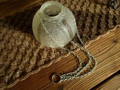 How to attach the chain and ring. I have created some of this with 99 cent store solar lights, they are hanging from my big tree in my front yard.