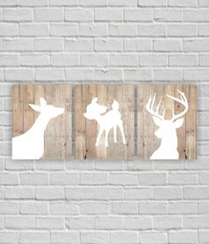 Hey, I found this really awesome Etsy listing at https://www.etsy.com/listing/242229366/rustic-nursery-art-print-deer-head