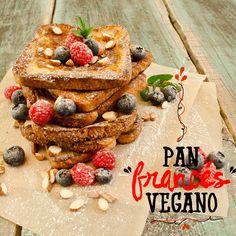 Pan francés vegano