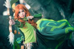 Windranger Cosplay Wallpaper, more: http://dota2walls.com/windranger/windranger-cosplay-wallpaper-2