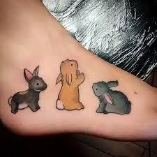 Resultado de imagen para tatuagem de coelho