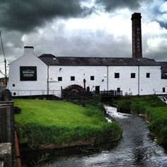 Kilbeggan Distillery, Co Westmeath. This working distillery shows both the old and the new whiskey making methods; be sure to join one of the upgraded tours to meet the distillers.