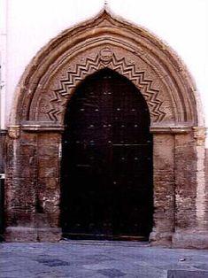 Portale arabo-normanno del Conservatorio musicale di Palermo.