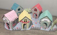 Un village couleur bonbon