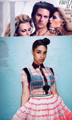We love British soul singer Lianne La Havas' sheer look in the June edition of @W magazine. Notice anything familiar? She's wearing our Parfait Kelly Bra in Black. :) For More Details: www.facebook.com/photo.php?fbid=425434130802028=a.115781478433963.19326.111339788878132=3=1