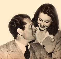 """""""This, this was love. This was the real thing"""" – Laurence Olivier on Vivien Leigh shortly before he died.  Photo above: Viv & Larry, 1941  They looked into each others eyes like the whole world depended on it. The constellations burst in her eyes and all possible adoring affection filled his smile. Love was not a word to them, it was a being.  Happy Valentine's Day to all! ❤️ #vivienleigh#laurenceolivier#love"""