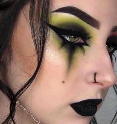 Punk Makeup, Rave Makeup, Edgy Makeup, Grunge Makeup, Exotic Makeup, Asian Makeup, Grunge Hair, Makeup Goals, Makeup Art