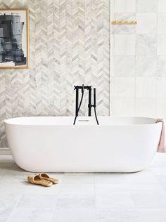 Family Bathroom, Small Bathroom, Marble Bathrooms, Bathroom Ideas, Master Bathroom, Wall And Floor Tiles, Wall Tiles, Mosaic Wall, Wet Room Flooring