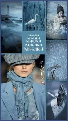 '' Niagara Blue '' by Reyhan S.D.