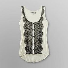Dream Out Loud by Selena Gomez Junior's Lace Tank Top - Clothing - Juniors - Tops