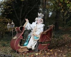 Snow Queen & Sleigh - Walkabout Character Act | Bristol | South West| UK