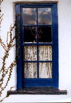 Irish cottage window