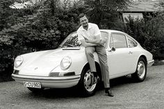 Ferdinand Alexander Porsche, who passed away on April 5 at the age of 76.