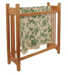 Amish Mission Quilt Rack