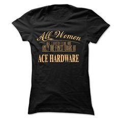 I work at Ace Hardware FINEST T Shirts, Hoodie. Shopping Online Now ==► https://www.sunfrog.com/Funny/I-work-at-Ace-Hardware--FINEST-5797-Black-11132537-Ladies.html?41382