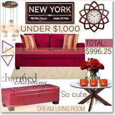 Living Room Under $1,000
