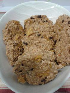 Receta de galletas integrales con amaranto, naranja y chocolate; riquísimas y muy fáciles de hacer