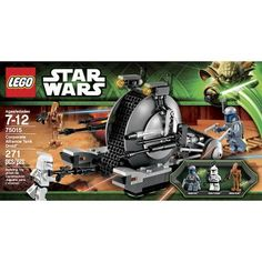LEGO® Star Wars Corporate Alliance Tank Droid. About time they came out with another Jango Fett minifigure!