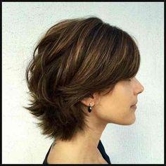34 elegante kurze Frisuren und Frisuren für dickes Haar (4) – frauen