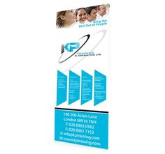 Premium or budget #RollerBanners are an ideal way to stand out and showcase your company, its services, its sales or its products quickly and effectively.