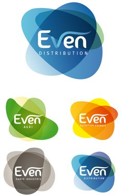 """Even"" Logos  by Haris.karat  www.webmahal.com"