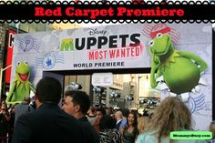 I Got My Muppet on for the Muppets Most Wanted Red Carpet Premiere at the El Capitan Theatre #MuppetsMostWantedEvent